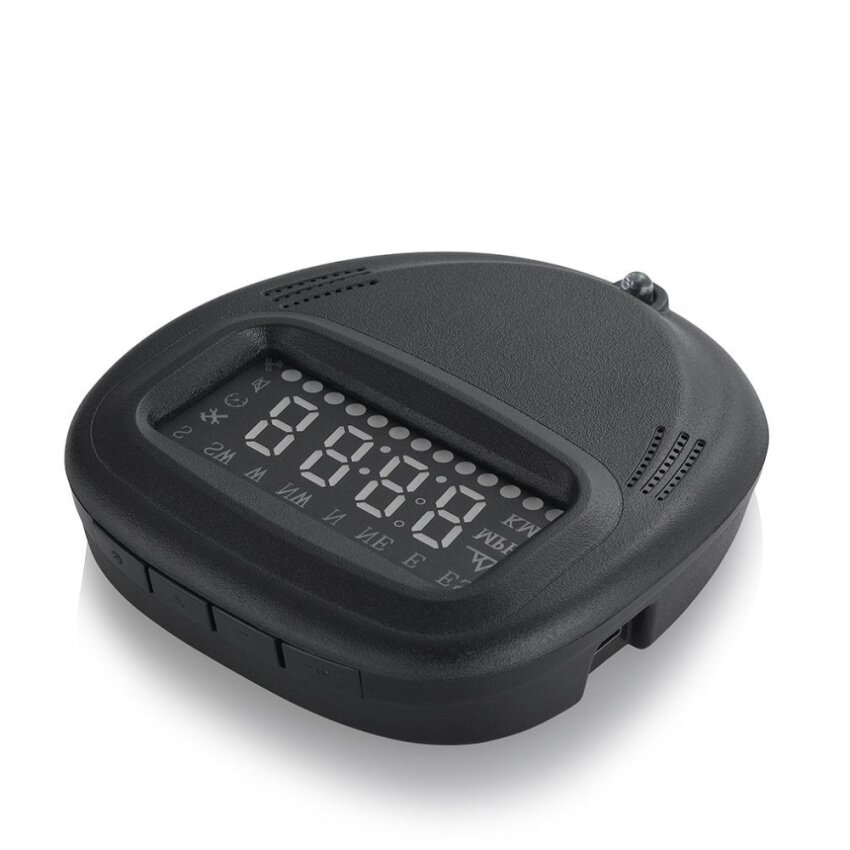 Gift A1 Head UP HUD GPS Time Display Brightness Remote Control Speed Indication - intl ...