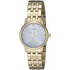 Gold Dressy Genuine Tone With Womens Crystals Watch Guess U0533l2 Om0Nv8nw