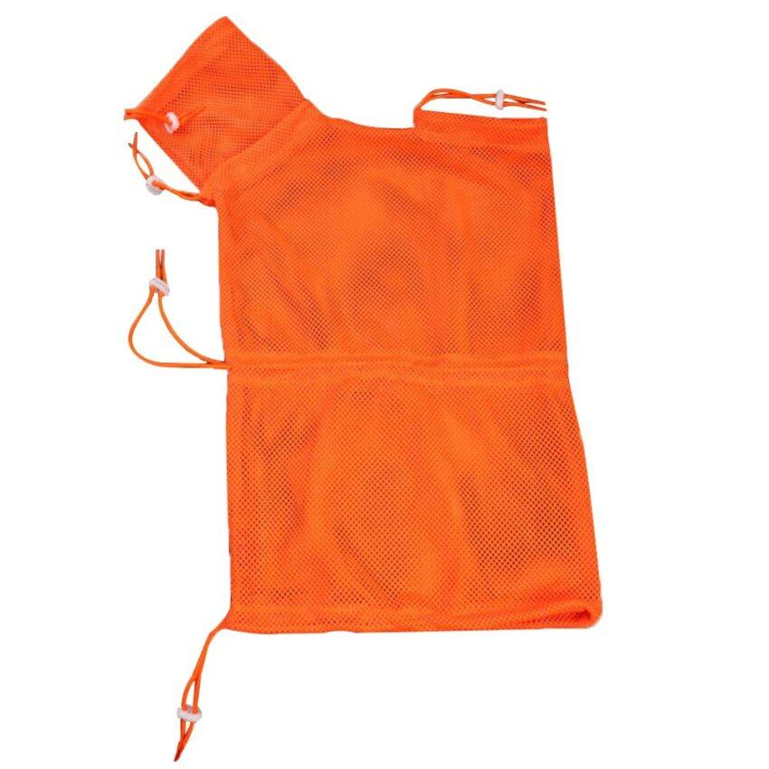 Heavy-duty Polyester Pet Cat Grooming Washing Bath Breathable Nail Cutting Bag 1A Orange - intl ...