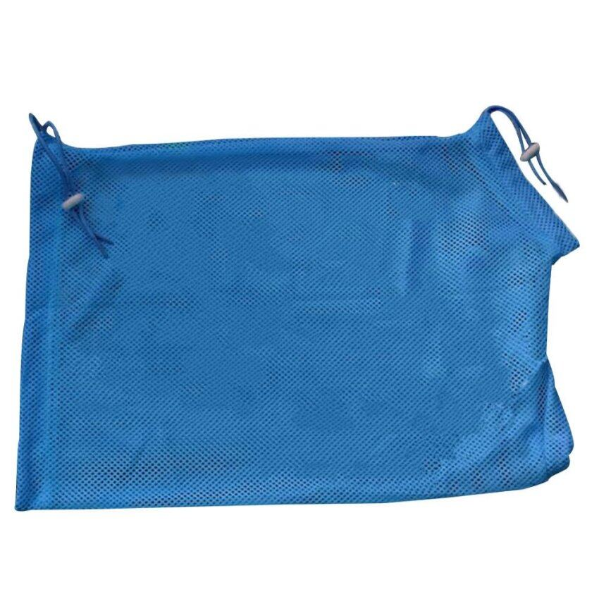 Heavy-duty Polyester Pet Cat Grooming Washing Bath Breathable Nail Cutting Bag 2A Blue - intl ...