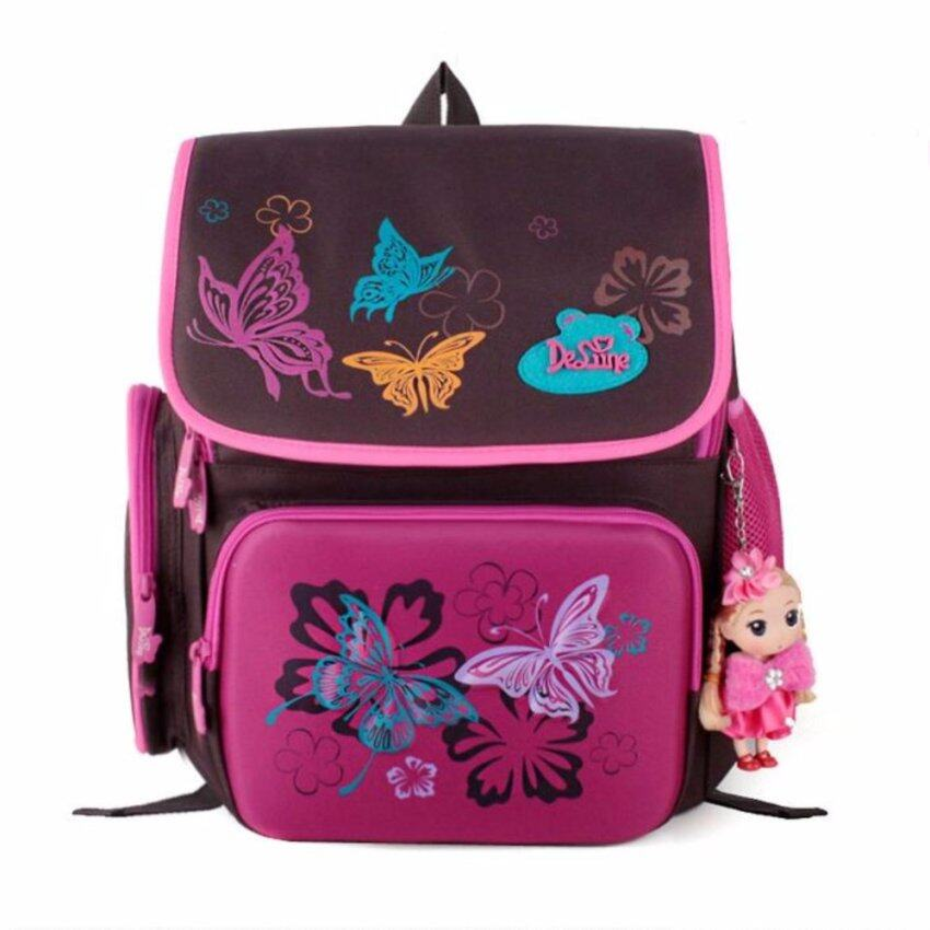 9d1a54258032 ... High High High High Quality 6 9 years Girls Backpack Waterproof Kids  Light Schoolbag Protecting Spine