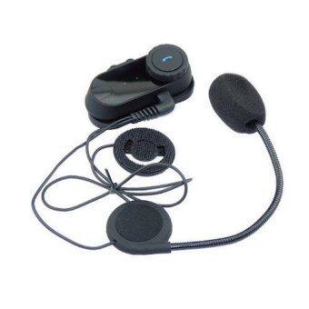 Hitech Helmet Bluetooth Intercom Headset บูลทูธสำหรับหมวกกันน็อค (Black)