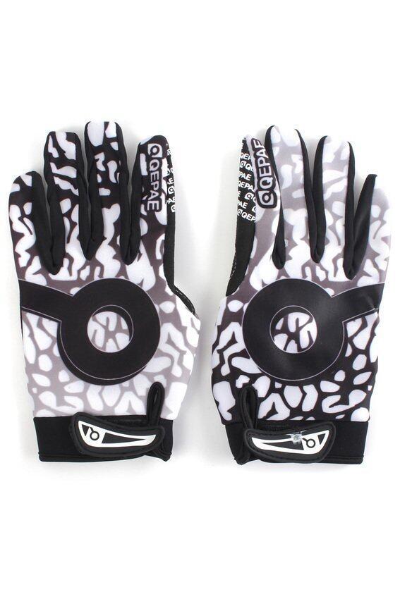HKS QEPAE Winter Windproof Cycling Bike Motorcycle Full Finger Gloves L - intl