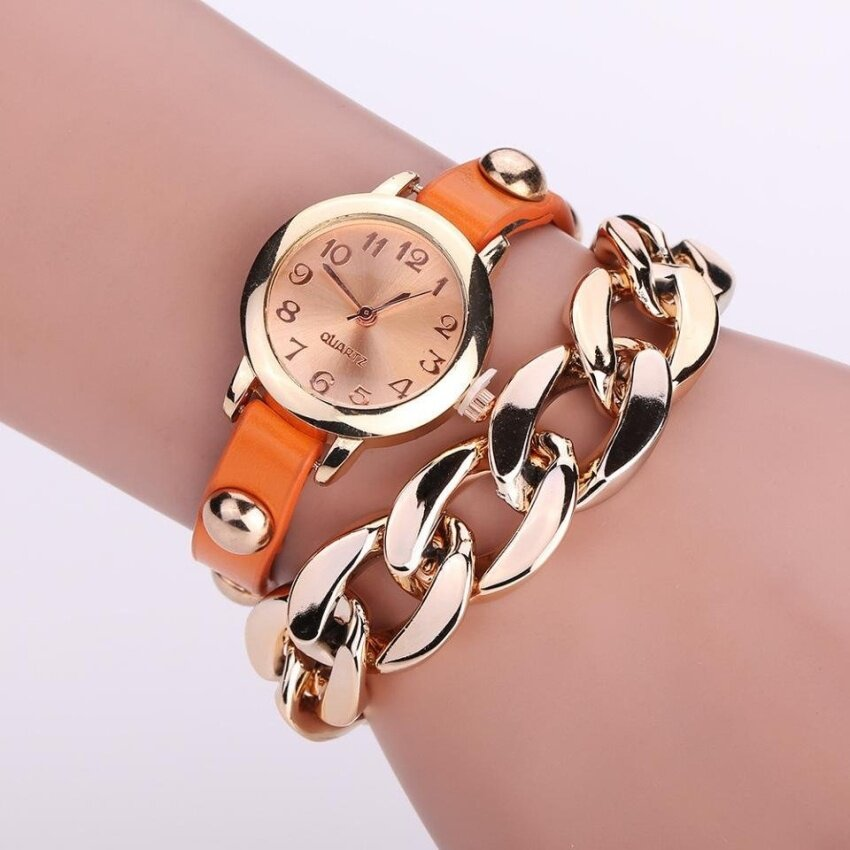 Hot Style Bracelet Watch Adult Student Fashion Vintage Gladiator Style Chain Watches - i ...