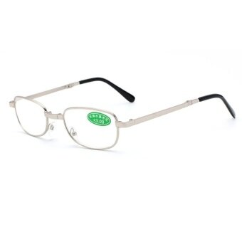 JINQIANGUI Light Comfy Rectangle Stretch Business Reading GlassesPresbyopia 1.0 1.5 2.0 2.5 3.0 3.5 4.0 Diopter