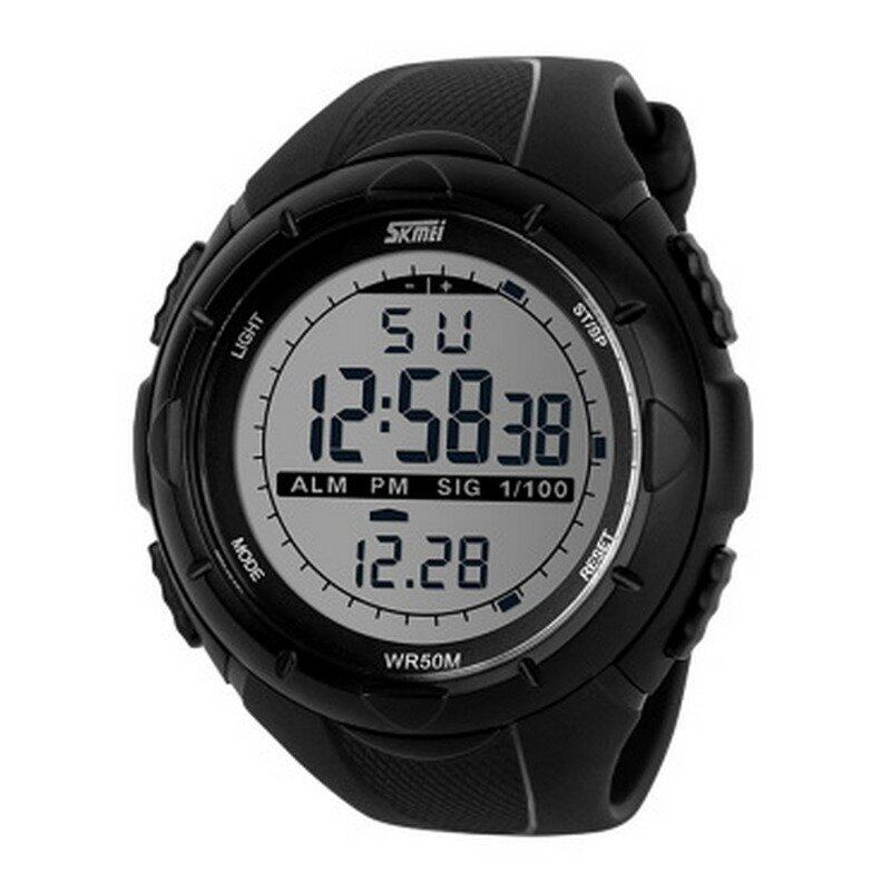 Lady's Outdoor Sports Watch With Shockproof Electronic Divers Wristwatches(Black)(INTL)