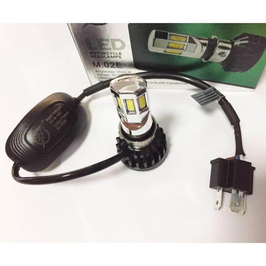 หลอดไฟหน้า LED 6Chip 35W/3500LM มีพัดลมระบายความร้อนในตัว (รุ่นใหม่) ...