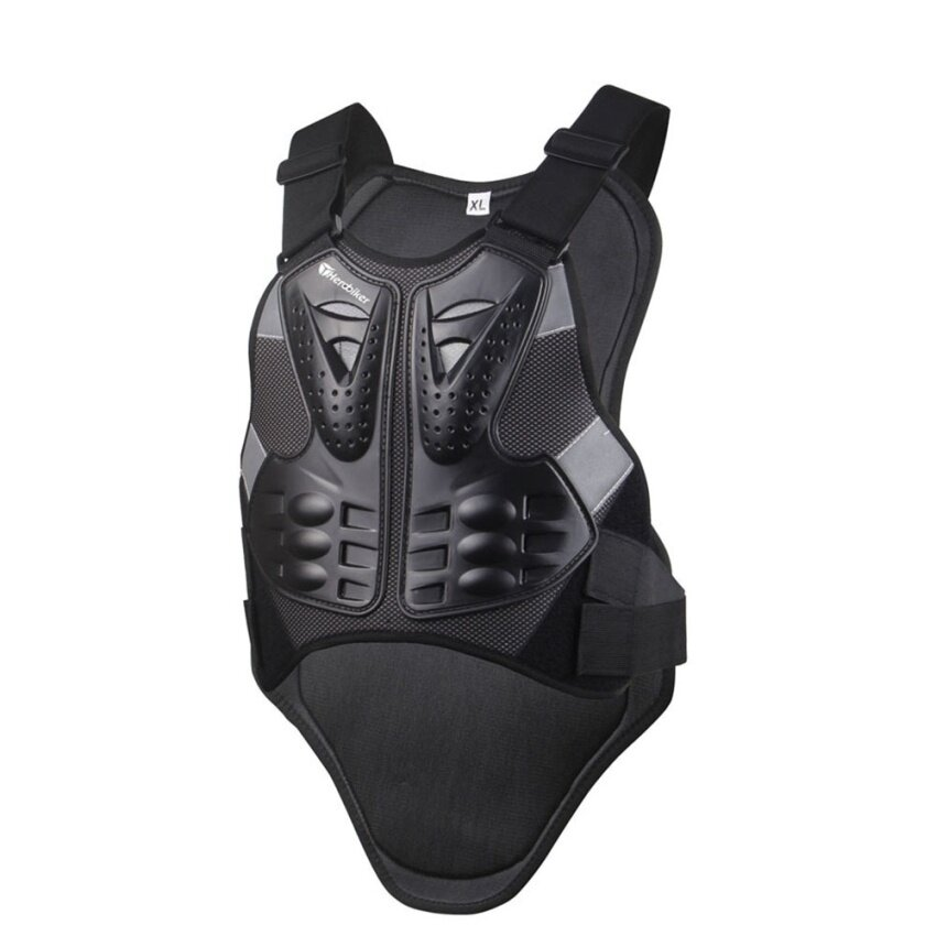 LKN Motorcycle Armor Vest Motocross Motos Chest & Back Protectors(Size:L) - intl