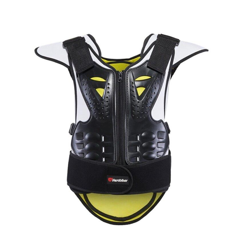 LKN New Motorcycle Body Armor Vest Anti-Wrinkle Breathable Motocross Armour Unisex Motorcycle Vest(Size:S) - intl