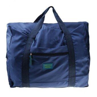 MagiDeal Waterproof Travel Storage Bag Organizer Pouch Folding Shoulder Bag Dark Blue - intl