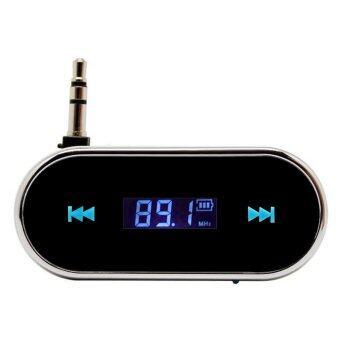 mini FM Transmitter for iPhone 5 4S 4 3G for Samsung S4 S3 car mp3 player(Black) - INTL