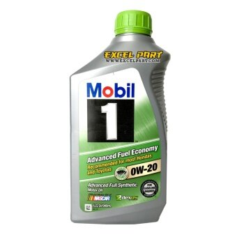 Mobil 1™ Advanced Fuel Economy 0W-20 Made in USA. 1 Quart (946mL)