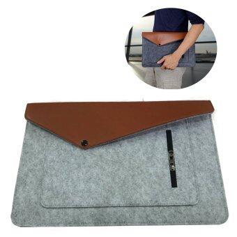 "Modaku กระเป๋าโน๊ตบุ๊ค 13"" เคสโน๊ตบุ๊ค ซองใส่โน๊ตบุ๊ค Cover Mac Sleeve Bag Notebook Mac Case (Gray/สีเทา)"