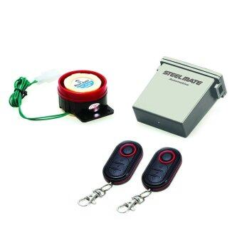 Moto Alarm Remote Start Keyless System Security Vechil System LCD Waterproof