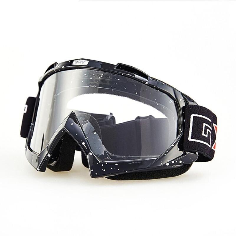 ขาย Motorcycle Anti - twist Goggles Transparent Ski Goggles - intl