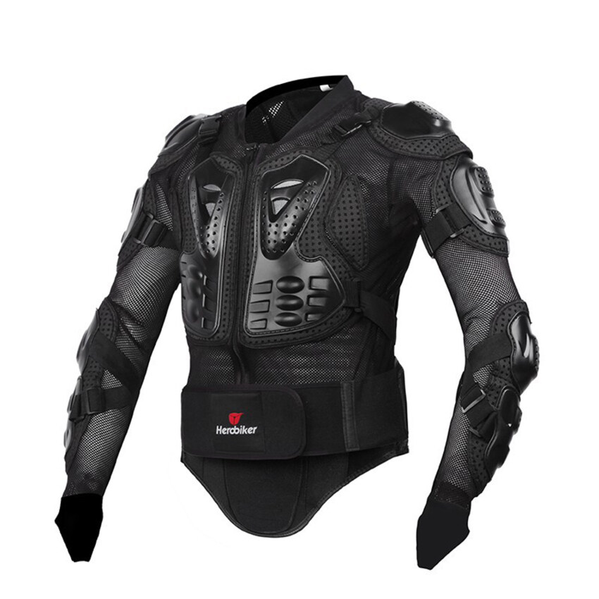 Motorcycle Body Protection Racing Full Body Armor Spine Chest Protective Jacket Gear M-XXXL (Intl)