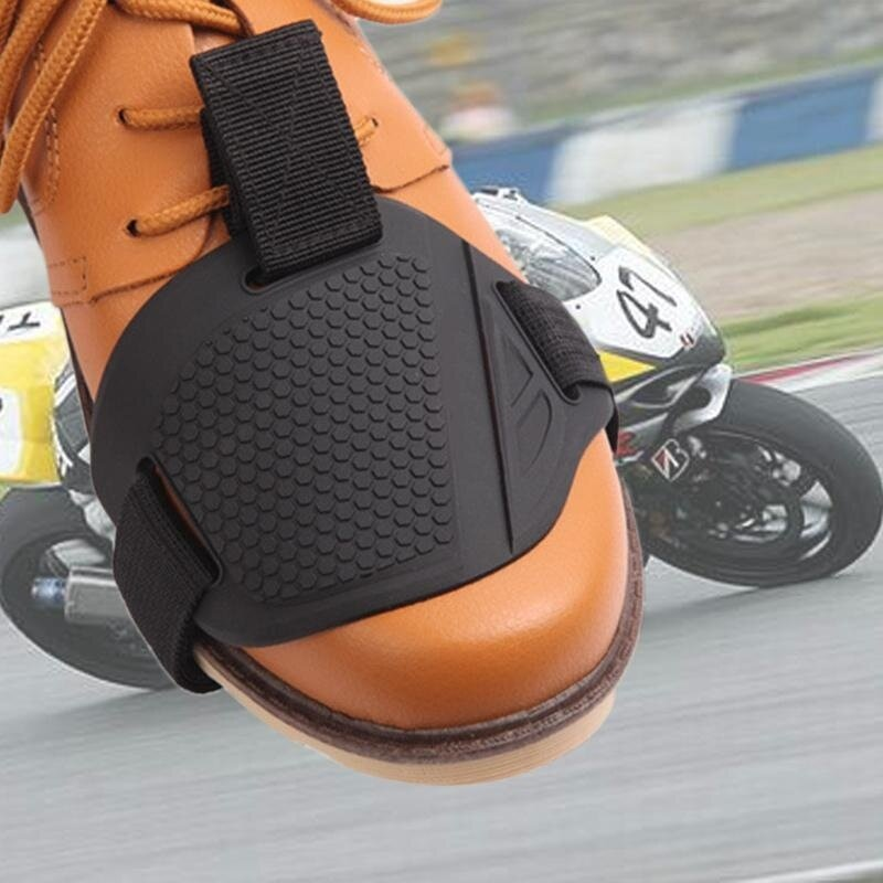 Motorcycle Cycle Shifter Shift Gearshift Shoe Guard Protector Cover Pad - intl