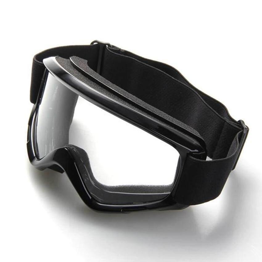Motorcycle Enduro Off-Road Helmet Windproof Glasses Goggles Black
