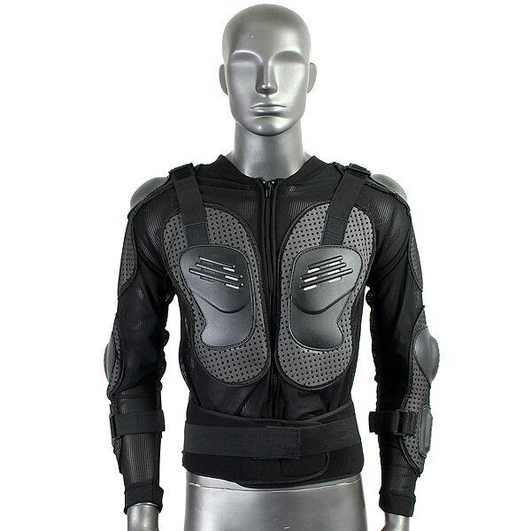 Motorcycle Full Body Protective Armor Jacket Spine Chest Shoulder Riding Gear ...