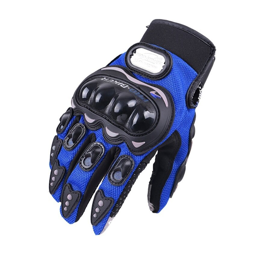 Motorcycle gloves Anti-collision touch screen gloves(Black/L) - intl