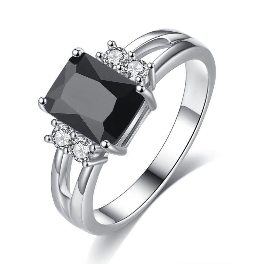 natural morganite wedding engagement 925 sterling silver bridal ring