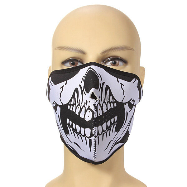 NEOPRENE FACE MASK WINTER NECK WARMER SKI SNOWBOARD MOTORCYCLE PROTECTION (Intl)