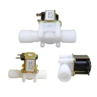 NEW 12V DC Electric Solenoid Valve Magnetic for Water Normally Closed Valve - intl
