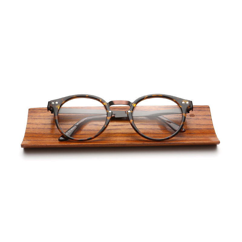 New Arrival Retro Small Round Frame Sunglasses Art Unisex Sunglasses(brown)