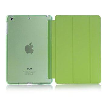 New iPad 2017 iPad 9.7 inch / Ipad Air (ipad 5) case, Welink Ultra Slim Smart Cover PU Leather Case for Ipad Air (ipad 5) / New iPad 2017 iPad 9.7 inch (Green)