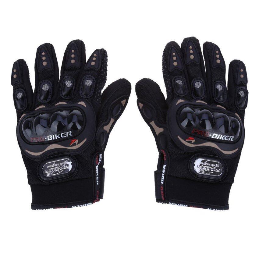 New SALE !! Summer Winter Full Finger Motorcycle Gloves Gants Moto Luvas Motocross Leather Motorbike Guantes Moto Racing Gloves - intl