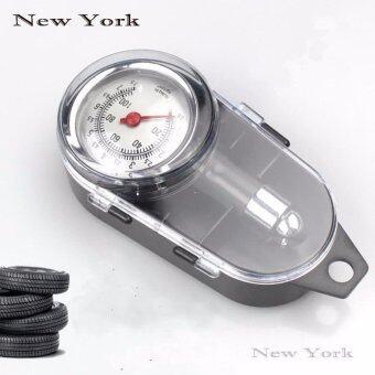 New York Big Sale เกจ์วัดลมยาง เครื่องวัดลมยางแบบพกพพา No.026 - Grey