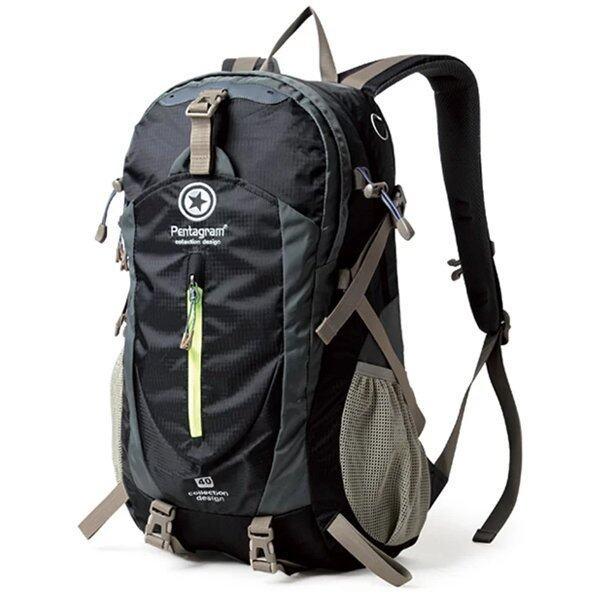 Pentagram กระเป๋าเป้ Pentagram Route Backpack 40L สีดำ