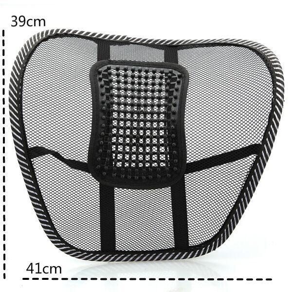 เก้าอี้ตาข่ายหลังเบาะรองรับรถนวดเอวเอวไว้รองรับตาข่ายรองหลังเบาะรถเก้าอี้รองสำนักงานบ้านสบาย
