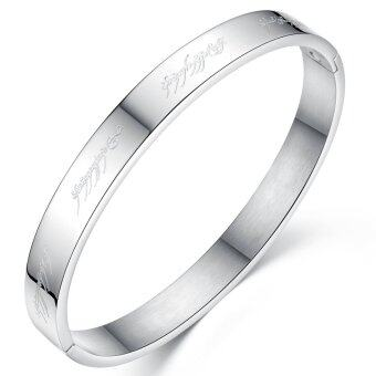 Queen Switzerland classic aesthetic titanium steel WOMEN bracelet Mageweave Lord of the Rings
