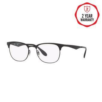 Ray-Ban แว่นสายตา รุ่น  - RX6346 - Black/Matte Black (2904) Size 52 Demo Lens