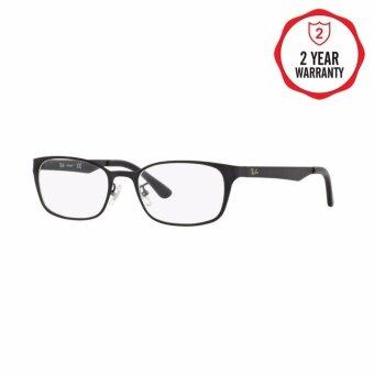 Ray-Ban แว่นสายตา รุ่น - RX8738D - Matte Black (2503) Size 53 Demo Lens