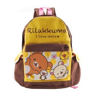 Rilakkuma กระเป๋าเป้ กระเป๋านักเรียน สะพายหลัง
