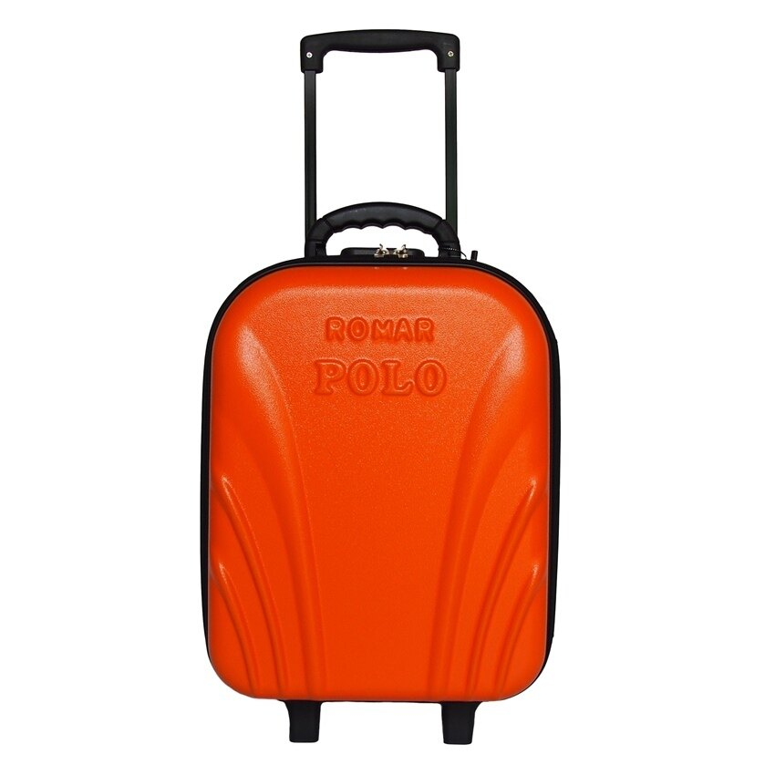 Romar Polo กระเป๋าเดินทาง 18 นิ้ว รุ่น POLO 24018 - Orange