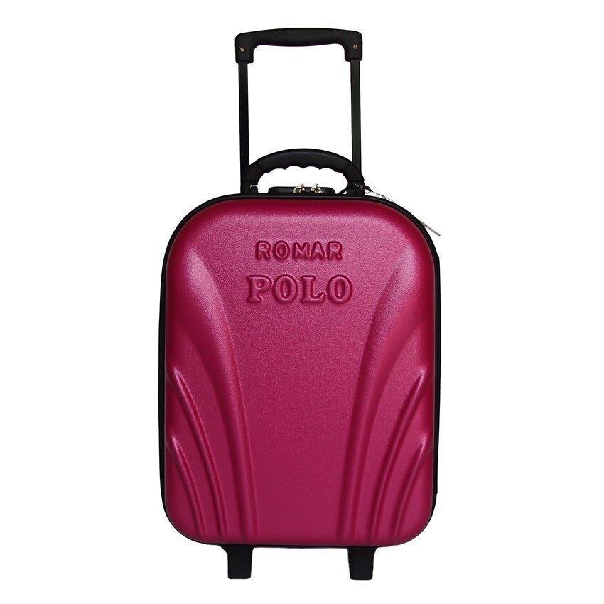 Romar Polo กระเป๋าเดินทาง 18 นิ้ว รุ่น POLO 24418 (Pink)