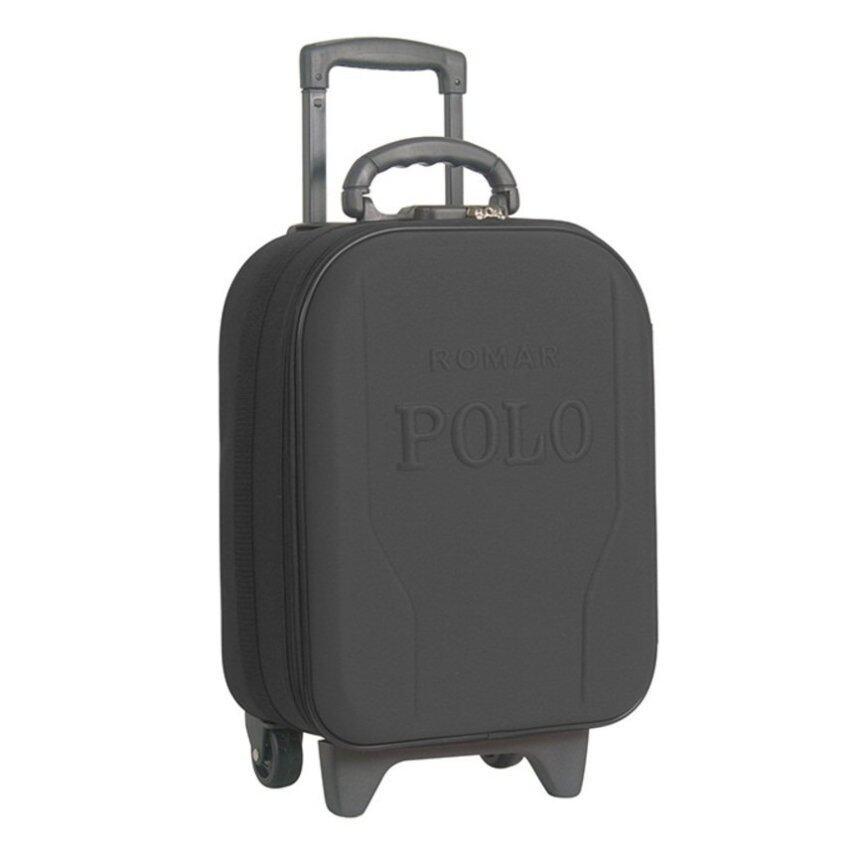 ROMAR POLO กระเป๋าเดินทาง กระเป๋าล้อลาก 16นิ้วclothes161606 รุ่น R012