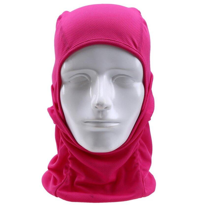 Rose Red Windproof Motorcycle Cycling Face Cap Hat Outdoor Full Face Mask - intl