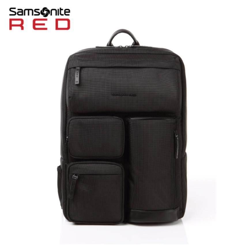 SAMSONITE RED กระเป๋าเป้ใส่แล๊ปท๊อป รุ่น CLAKEN BACKPACK สี BLACK