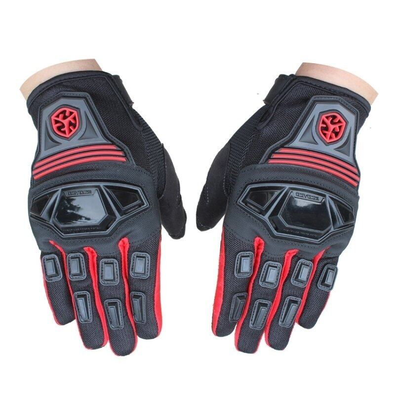 Scoyco MC24 Motorcycle Full Finger Scooter Protective Gloves Red - Intl