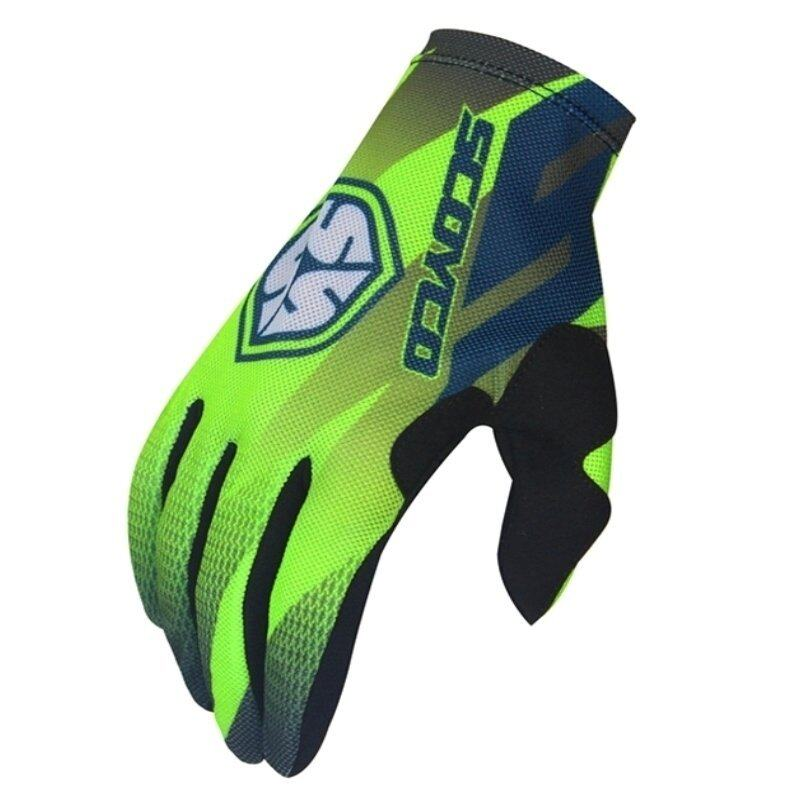 Scoyco MX56 Touch Sensitive Protective Cycling Gloves Full Finger Green - Intl