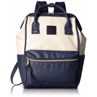 【Ship from Japan】 [Anello] Backpack leather mouthpiece Luc small AT-B1212 I / N - intl