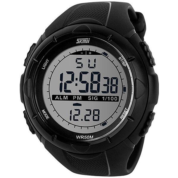 ด่วน Skmei นาฬิกาแฟชั่น ดิจิตอล กันน้ำ ผู้ชาย รุ่น 1025 สีดำ LED DigitalSport Fashion Waterproof Men Watch - Black กำลังลดราคา