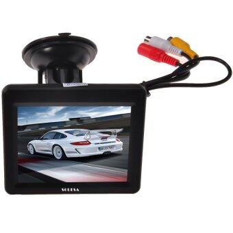 SOUESA HD Car Monitor Screen Car digital Color TFT LCD Monitor DVD for Rearview Camera 3.5 inch - Intl