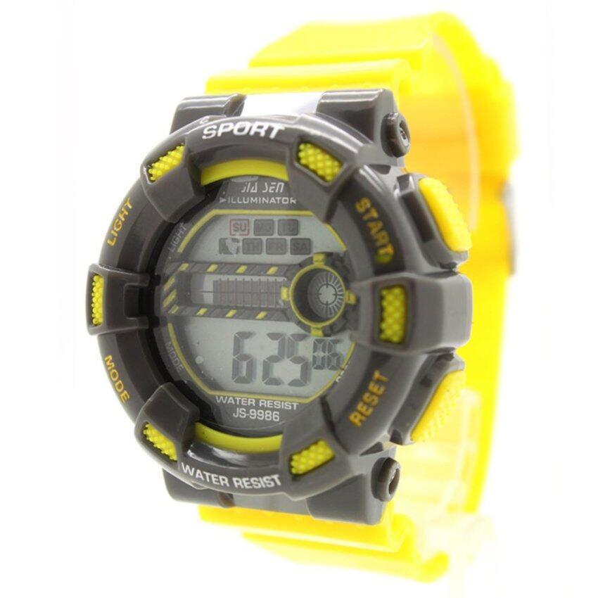 Sport Watch (Tone Mix) นาฬิกาข้อมือผู้ชาย-ผู้หญิงและเด็ก สายยาง ระบบ Digital SW-I1 ...
