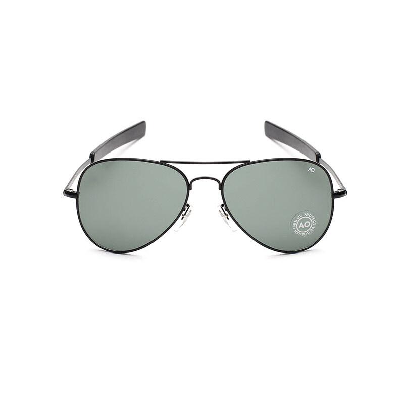 สุดยอดสินค้าSunglasses Men Aviator Sun Glasses GreyBlack Color Brand Design ราคาย่อมเยา