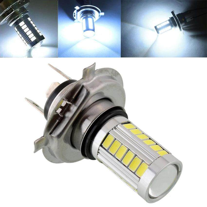 Super Bright H4 SMD5630 LED White Car Fog Driving Light Headlight Lamp 12V - intl ...